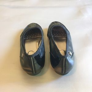 "Calvin Klein Shoes - Calvin Klein ""Mia""black flat shoes"